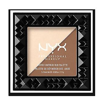 Nyx Cheek Contour Duo Palette, Double Date, 2.5 g