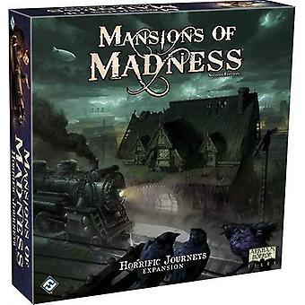 Herenhuizen van Madness 2nd Edition gruwelijke reizen expansie voor kaartspel