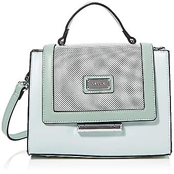 Bessie London Top Handle Flap Cross Body - Borsa a mano Donna Verde (Green) 12x24x29 cm (W x H L)
