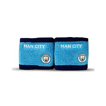 Manchester City FC Blue Wristbands