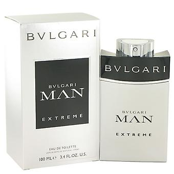 Bvlgari Man Extreme door Bvlgari Eau De Toilette Spray 3.4 oz/100 ml (mannen)