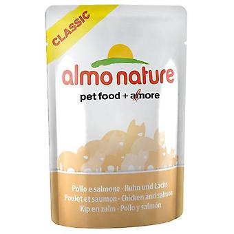 Almo nature With Chicken And Salmon (Cats , Cat Food , Wet Food)