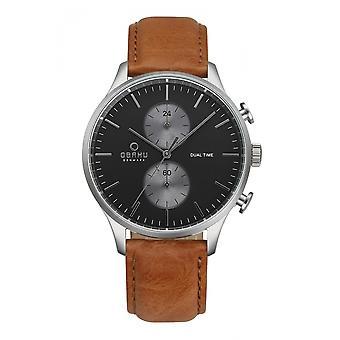Obaku Gran Camel Men's Wristwatch V196GUCURZ