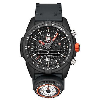 Luminox x Bear Grylls Survival LAND 3780 Série Quartz Black Dial Rubber Strap Men-apos;s Regarder XB.3781.KM