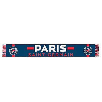 Paris Saint Germain FC Unisex Adults Named Scarf
