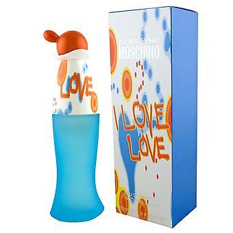 Moschino Cheap & Chic  I Love Love Eau de Toilette Spray 100ml