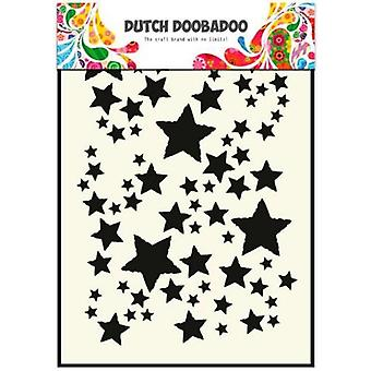 Dutch Doobadoo Dutch Mask Art stencil starry sky A5 470.715.014