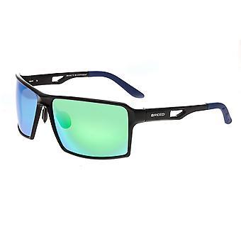 Razza Centaurus alluminio Polarized Occhiali da sole - nero/blu-verde