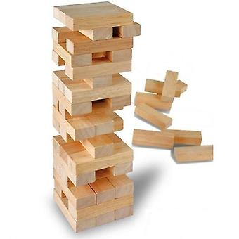 Rollover Tower Jenga Tower game