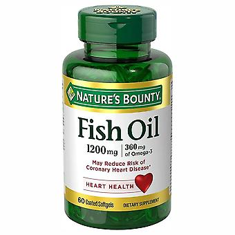 Nature's bounty visolie, 1200 mg, gecoate softgels, 60 ea