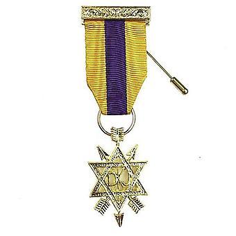 Orde van de geheime monitor 2e graadborst juweel osm