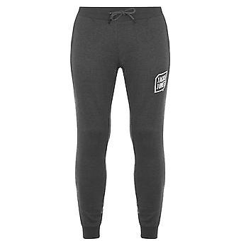 Jack e Jones Mens Logo Joggers Ribbed Cuffs Sport Pantaloni Pantaloni Bottoms