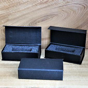 3 x Magnetic USB Presentation Gift Boxes, Black