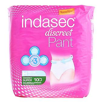 Incontinentie luiers Pant Super Talla Mediana Indasec (10 uds)