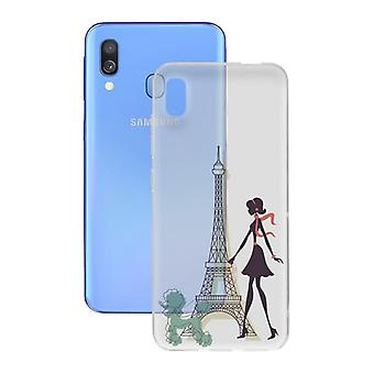 Mobile cover Samsung Galaxy A40 Contact Flex France TPU