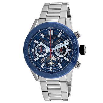 Tag Heuer Men's Carrera Calibre Black Dial Watch - CBG2a11.BA0654