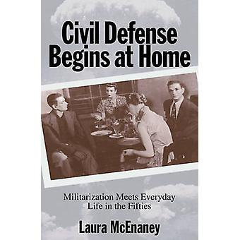 Sivilforsvaret begynner hjemme - militarisering møter hverdagen i t