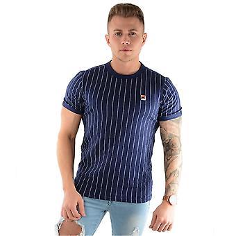 Fila Vintage Lm181l16 Pinstripe Guilo camiseta retro