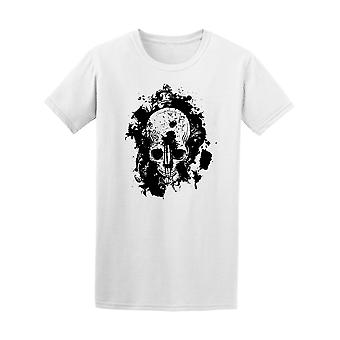 Skull With A Headshot Tee Men's -Image by Shutterstock