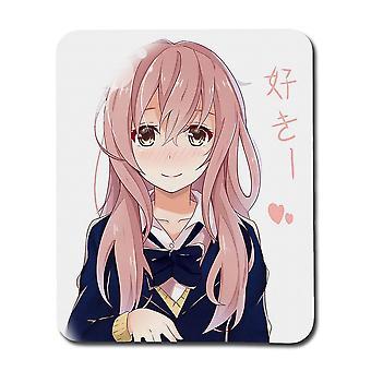 Anime A Silent Voice Shouko Nishimiya Mousepad