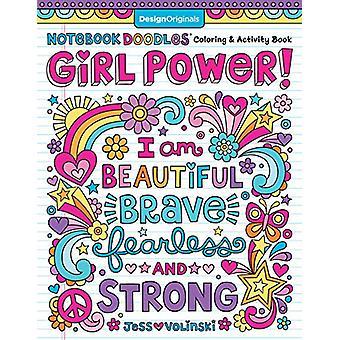 Notebook Doodle Girl Power! door Jess Volinski - 9781497204430 Boek