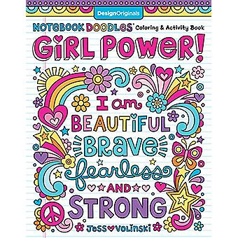 Notebook Doodle Girl Power! by Jess Volinski - 9781497204430 Book