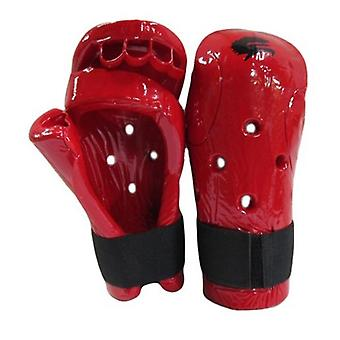 Morgan Dipped Foam Protector Hand Guards Red