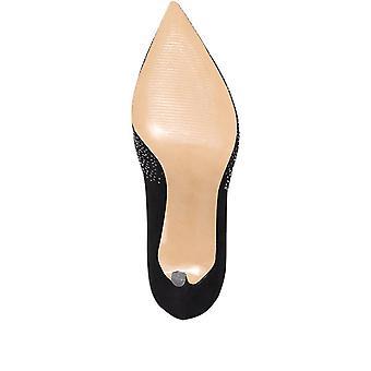 Jones Bootmaker Naisten Sophie koristeltu tuomioistuin kengät