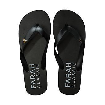 Zapato de playa Farah Shore Flip Flop Beach para hombres's en negro