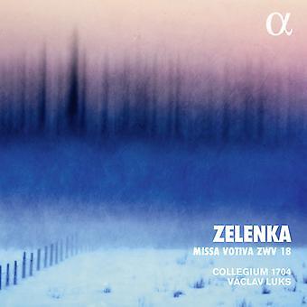 Zelenka / Luks - Missa Votiva Zwv 18 [CD] Importación de EE. UU.