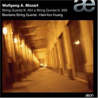 W.a. Mozart - Mozart: Strygekvartet; String Quintet [CD] USA importerer