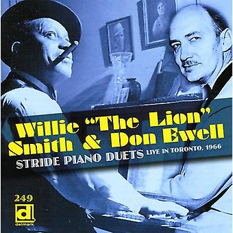 Willie Smith « le Lion » - Piano Stride duos Live in Toronto 1966 [CD] USA import