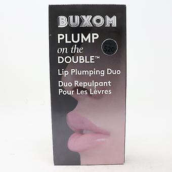 Buxom Plump On The Double Lip Plumping Duo  / New With Box