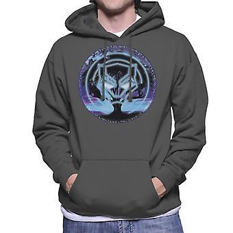 驚嘆ブラックパンサー シンボル ツリー メンズ フード付きスウェット シャツ