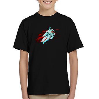 NASA Free Flight Astronaut Kid's T-Shirt