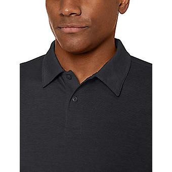 Peak Velocity Men-apos;s VXE Manches courtes Quick-Dry Loose-Fit Polo T-shirt, Noir ...