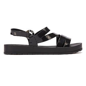 Zaxy Freeze Womens Black Sandals