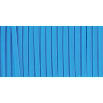 """Rexlace Plastic Lacing .0938""""X100yd-Neon Blue"""