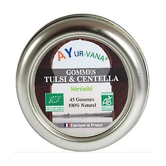 Tulsi & Centella Organic Gums 45 units