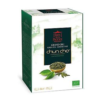 Chun Cha Bio Grand Cru Green Tea - Slimming / Antioxidant 90 infusion bags