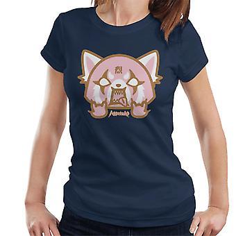 Aggretsuko Retsuko Pink Rage Women's T-Shirt