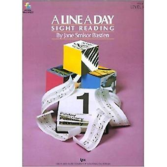 A Line a Day Sight Reading Level 1 by Bastien & Jane