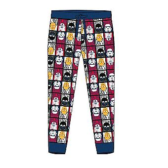 Star Wars Mens Cuffed Lounge Pantalones
