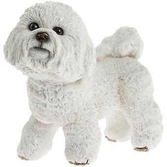 Pysyvä Bichon Frise Valkoinen koira koristekoristelu