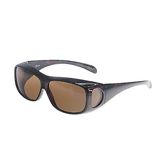 Sunglasses Unisex brown with brown lens VZ0003B