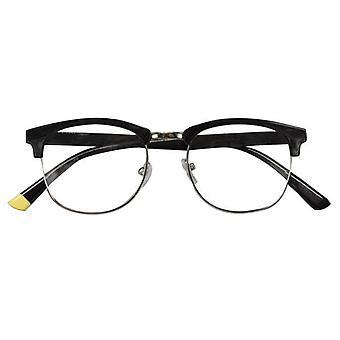Leesbril Unisex Berlin zwarte dikte +2,50