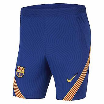2020-2021 Barcelona Nike Strike Training Shorts (Bleu) - Enfants