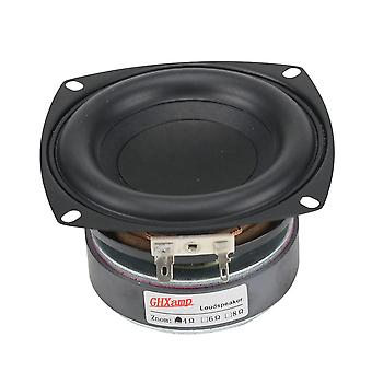 "1pc 4""inch 40""w Altoparlante Subwoofer, High Power Long-stroke Bass Home/theater"
