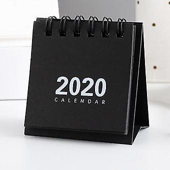 Retro  New Year Simple Desk Coil Notepad Kraft Paper Calendar