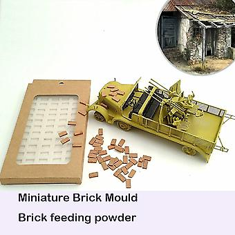 1:35 Brick Mold  Silica Gel Mould For Simulating Long Brick Situational Sand